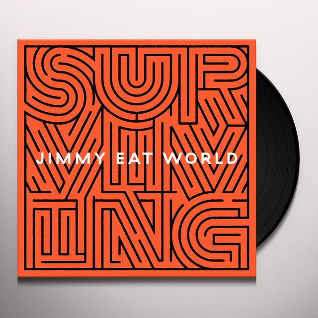 Jimmy Eat World SURVIVING Vinyl Record