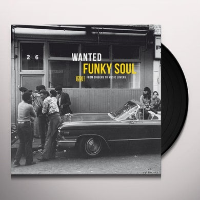 WANTED FUNKY SOUL / VARIOUS Vinyl Record