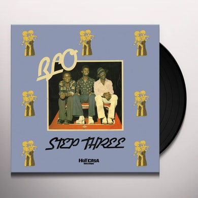 Blo STEP THREE Vinyl Record