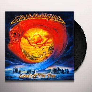 Gamma Ray LAND OF THE FREE Vinyl Record