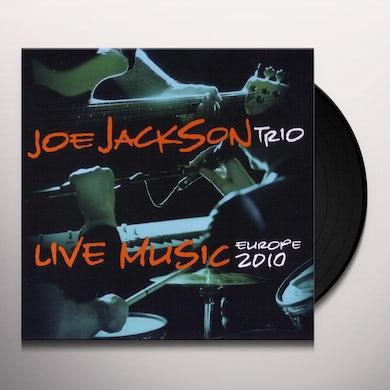 Joe Jackson LIVE MUSIC: EUROPE 2010 Vinyl Record