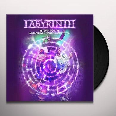Labyrinth RETURN TO LIVE Vinyl Record