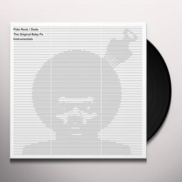 Pete Rock THE ORIGINAL BABY PA INSTRUMENTALS Vinyl Record