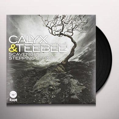 Calyx & Teebee SCAVENGERS/STEPPING STONES Vinyl Record - UK Release