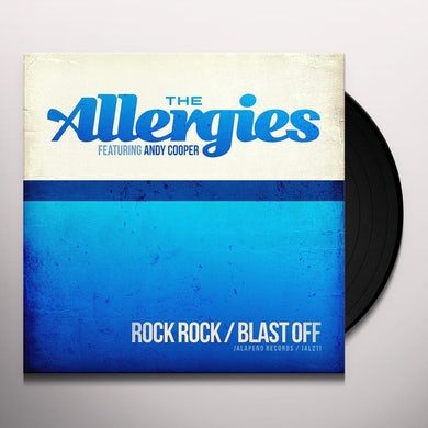 ALLERGIES ROCK ROCK / BLAST OFF Vinyl Record
