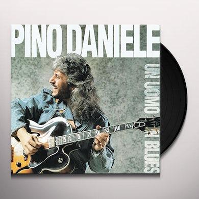 Pino Daniele UN UOMO IN BLUES Vinyl Record
