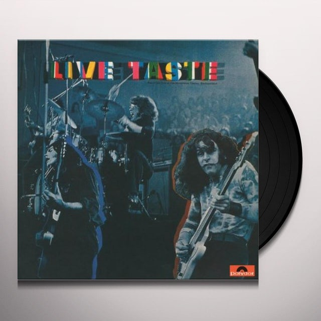 LIVE TASTE Vinyl Record