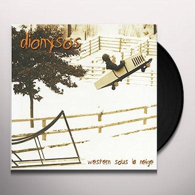 Dionysos DU WESTERN SOUS LA NEIGE Vinyl Record