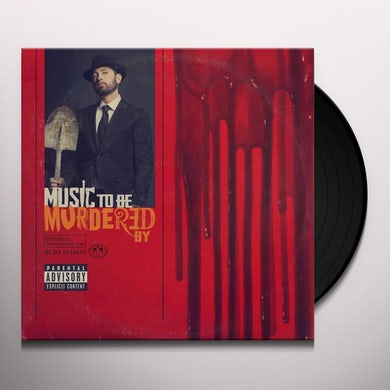 Eminem Music To Be Murdered By (2 LP) (Black Ice) Vinyl Record