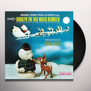 Burl Ives RUDOLPH THE RED-NOSED REINDEER Vinyl Record