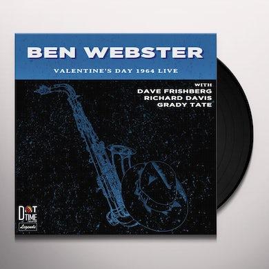 Ben Webster VALENTINE'S DAY 1964 LIVE Vinyl Record