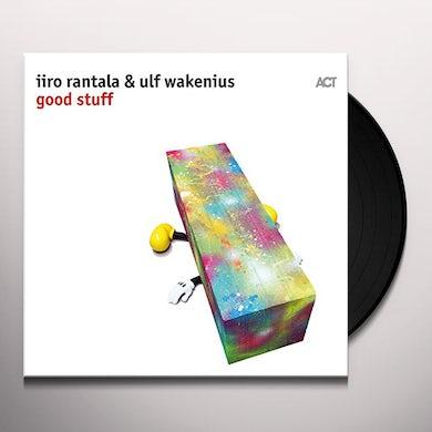 Iiro Rantala / Ulf Wakenius GOOD STUFF Vinyl Record