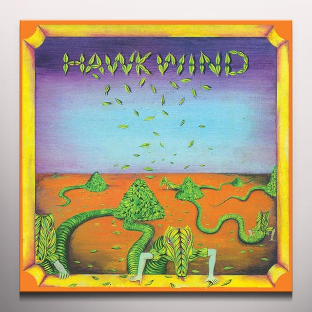 Hawkwind Limited Edition Opaque Colored Vinyl Record
