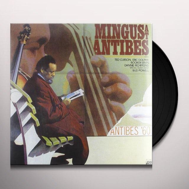 Charles Mingus MINGUS AT ANTIBES Vinyl Record