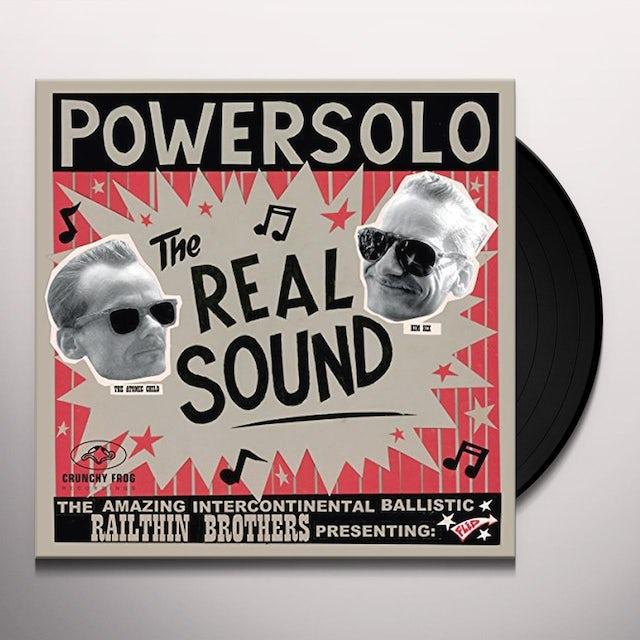 POWERSOLO REAL SOUND Vinyl Record