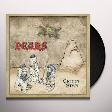 Pears GREEN STAR Vinyl Record
