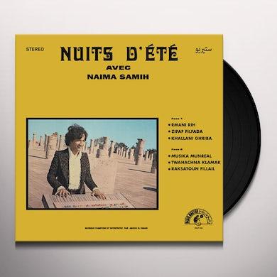 Abdou El Omari NUITS D'ETE AVEC NAIMA SAMIN Vinyl Record