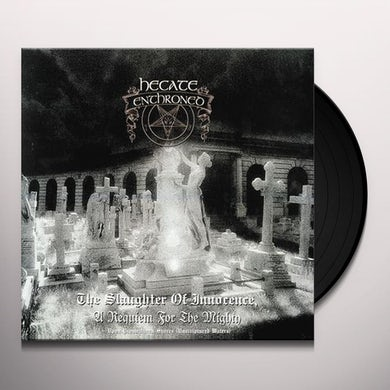 Hecate Enthroned SLAUGHTER OF INNOCENCE + UPON PROMEATHEAN SHORES Vinyl Record