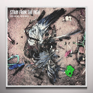 Stray From The Path SUBLIMINAL CRIMINALS (GREEN/YELLOW SPLIT) Vinyl Record