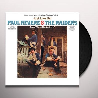 Paul Revere / Raiders / Mark Lindsay JUST LIKE US Vinyl Record