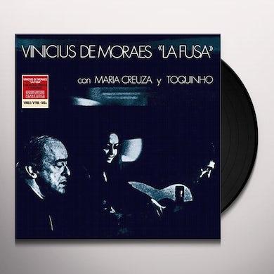 Pastor Vinicius De Moraes LA FUSA: WITH M. CREUZA & TOQUINHO Vinyl Record