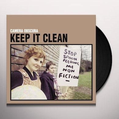 Camera Obscura KEEP IT CLEAN (25TH ELEFANT ANNIVERSARY REISSUE) Vinyl Record