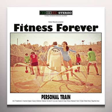 PERSONAL TRAIN - Limited Edition Numbered Clear Red Colored Vinyl Record