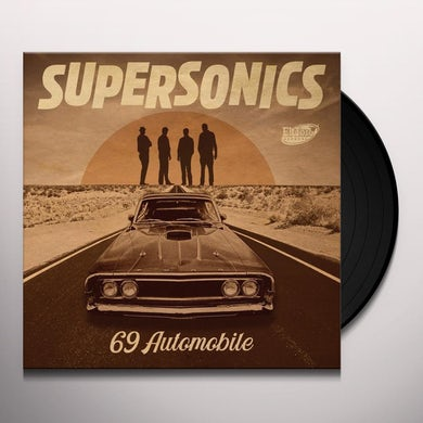 Supersonics 69 AUTOMOBILE Vinyl Record
