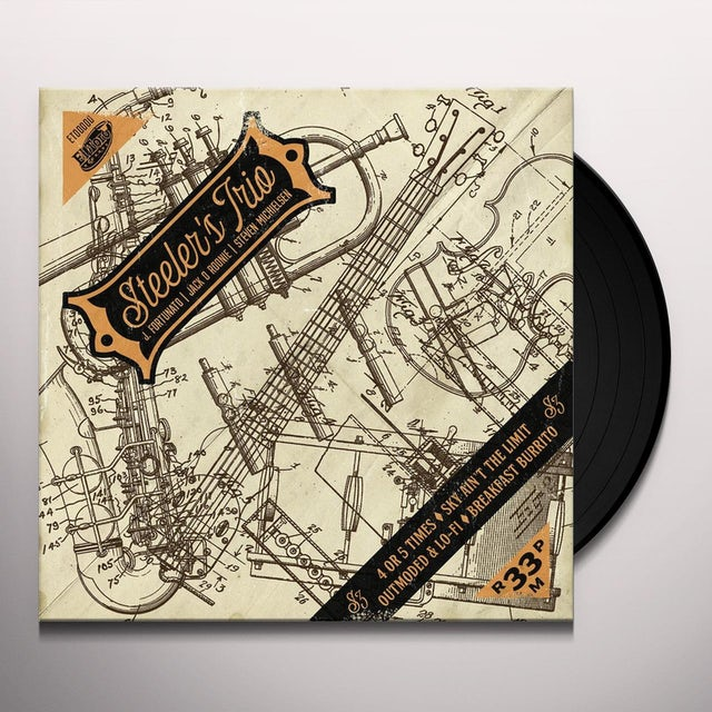 Steeler'S Trio 4 OR 5 TIMES Vinyl Record