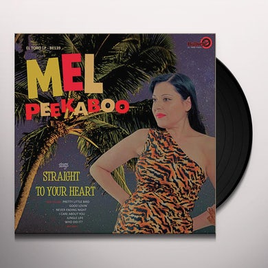 Mel Peekaboo STRAIGHT TO YOUR HEART Vinyl Record