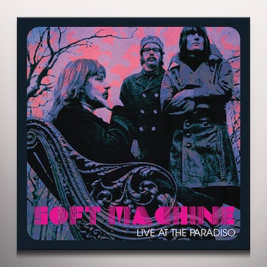 Soft Machine LIVE AT THE PARADISO - Limited Edition Purple Colored Vinyl Record
