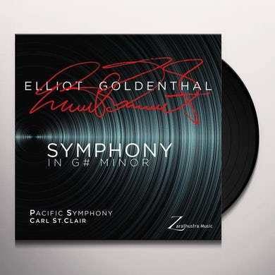 Elliot Goldenthal / Pacific Symphony SYMPHONY IN G MINOR Vinyl Record
