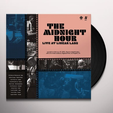 Adrian Younge Midnight Hour Live At Linear Labs Vinyl Record