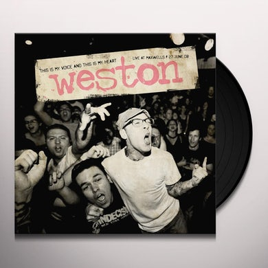 Weston THIS IS MY VOICE & THIS IS MY HEART Vinyl Record