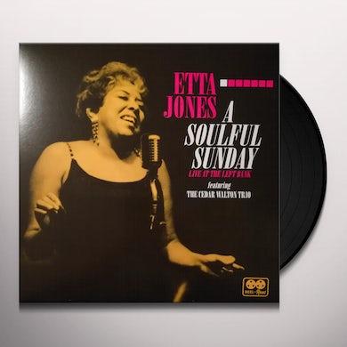 Etta Jones SOULFUL SUNDAY: LIVE AT THE LEFT BANK Vinyl Record