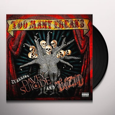 Davey Suicide / Twiztid TOO MANY FREAKS Vinyl Record
