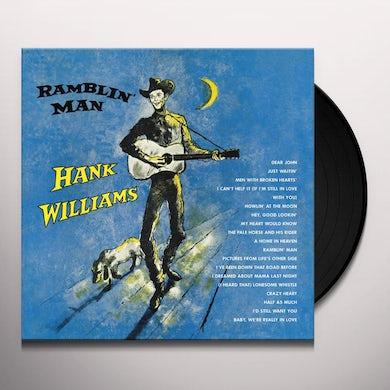 Hank Williams RAMBLIN' MAN Vinyl Record