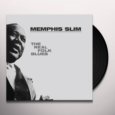 Memphis Slim REAL FOLK BLUES Vinyl Record