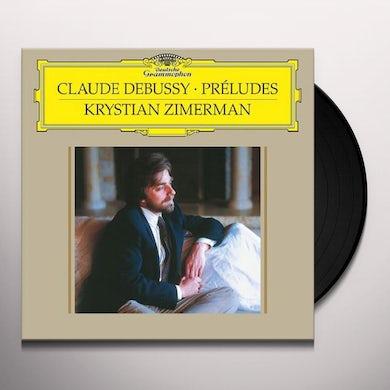 Krystian Zimerman Debussy: Preludes- Book 1, L.117/Book 2, L.123 Vinyl Record