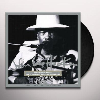 John Lee Hooker BLACK NIGHT IS FALLING - LIVE AT THE RISING SUN Vinyl Record