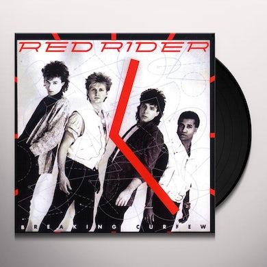 Red Rider BREAKING CURFEW Vinyl Record