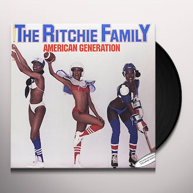 RITCHIE FAMILY (VILLAGE GIRLS) AMERICAN GENERATION Vinyl Record