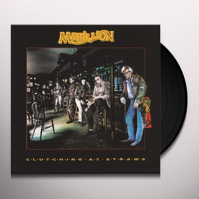 Marillon CLUTCHING AT STRAWS Vinyl Record