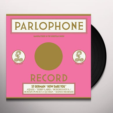 St Germain HOW DARE YOU (REMIXES) Vinyl Record