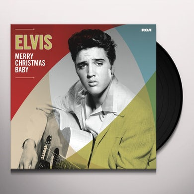 Elvis Presley Merry Christmas Baby Vinyl Record