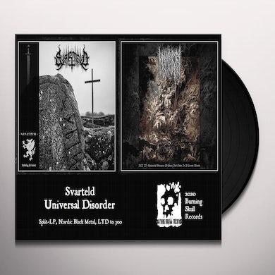 SVARTELD / UNIVERSAL DISORDER Vinyl Record