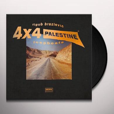 FIGUB BRAZLEVIC 4X4 JEEP BEAT Vinyl Record