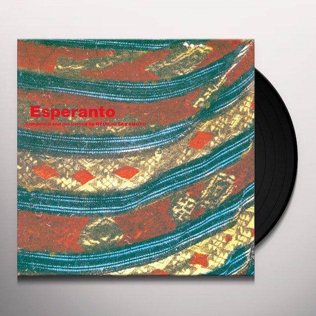 Ryuichi Sakamoto ESPERANTO Vinyl Record