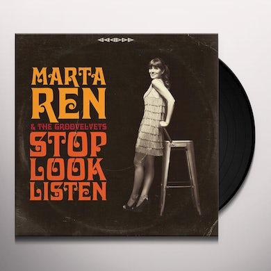 STOP LOOK LISTEN Vinyl Record