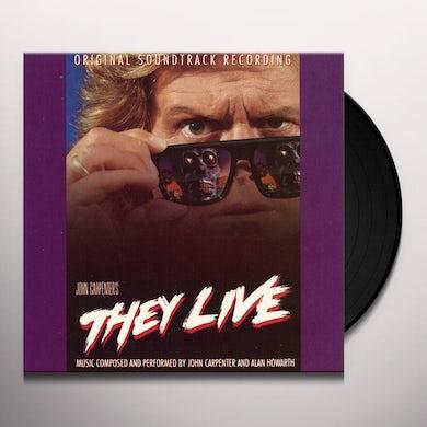 John Carpenter THEY LIVE / Original Soundtrack Vinyl Record